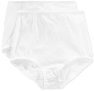 Bali Women's Light Tummy-Control Cotton 2-Pack Brief Underwear X037