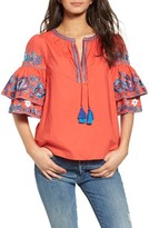 Parker Women's Heather Embroidered Blouse