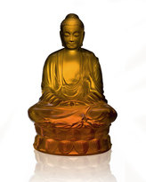 Lalique Amber Buddha Figure