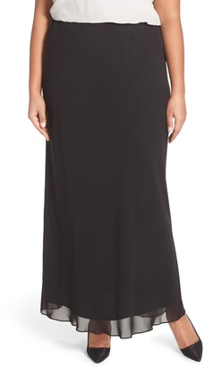 Alex Evenings Chiffon Maxi Skirt
