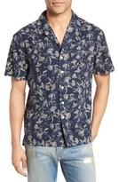 Current/Elliott Men's Dandelion Print Cotton Cabana Shirt