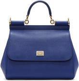 Dolce & Gabbana Blue Medium Miss Sicily Bag