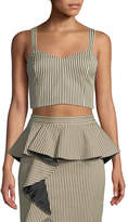 Alice + Olivia Cristi Sweetheart Bustier Top