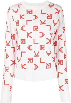 Karl Lagerfeld Paris Reversible Logo Jumper