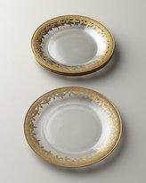Arte Italica Vetro Gold Salad/Dessert Plate