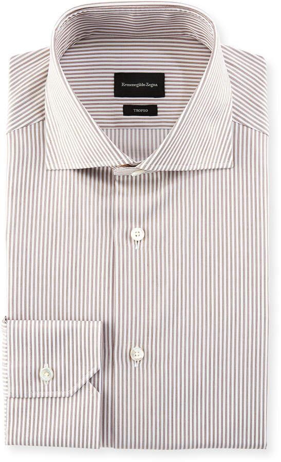 Ermenegildo Zegna Stripe Dress Shirt