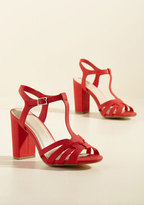 Expected Excellence T-Strap Heel in 7.5