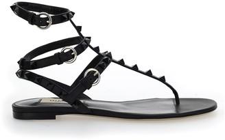 Valentino Rockstud Strap Sandals