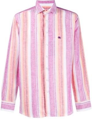 Etro Striped Linen Shirt