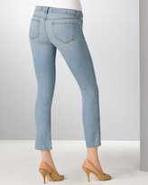 Cropped Pencil Jeans in Trestles Wash