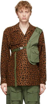 Engineered Garments Khaki Shoulder Vest Bag