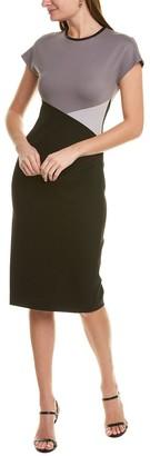 Anne Klein Colorblock Midi Dress