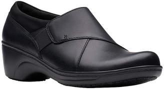 Clarks Womens Grasp High Closed Toe Slip-On Shoe
