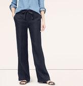 LOFT Linen Drawstring Pants