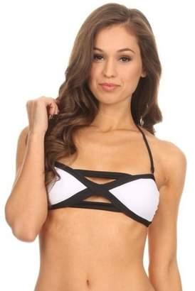 Anémone Criss-Cross Bikini Top