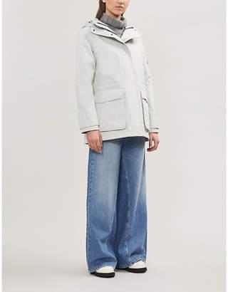 49 WINTERS Mid Parka hooded shell jacket