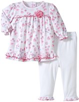 Kissy Kissy Pop Cakes Print Dress w/Legging (Baby) - Pink-12-18 Months