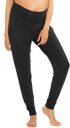 Angel Maternity Blooming Women Tapered Lounge Maternity Pants