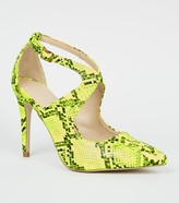 New Look Faux Snake Courts