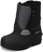 Tundra Black & Gray Faux Fur Lucky Boot