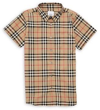 Burberry Little Boy's & Boy's KB5 Fredrick Vintage Check Shirt