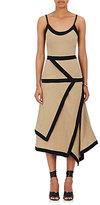 J.W.Anderson Women's Asymmetric Slub Linen Dress