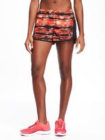 Old Navy Go-Dry Printed Run Shorts for Women
