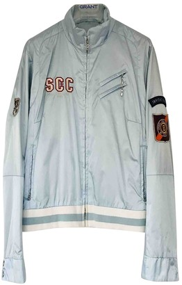 Bogner Blue Leather Jacket for Women