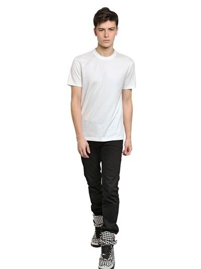 Givenchy Pervert 17 Cuban Fit Cotton Jersey Shirt