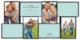 MCS 4x6 Inch Format Frame Collage, 8 Openings, Black (47676)