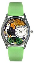 Whimsical Watches Women's S0150006 Toucan Light Green Leather Watch