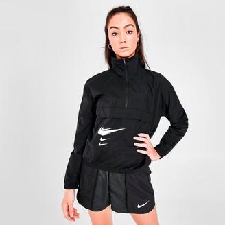 Nike Women's SWOOSH Run Half-Zip Jacket