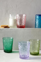 Anthropologie Fleur-De-Lys Juice Glass