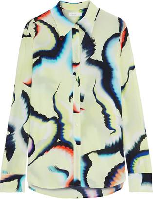 A.L.C. Jayne Printed Silk-blend Crepe De Chine Shirt