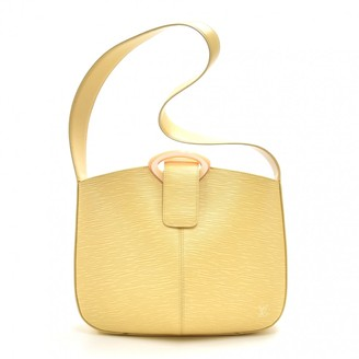 Louis Vuitton Yellow Leather Handbags