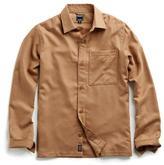 Todd Snyder Italian Camel Hair Shirt Jacket
