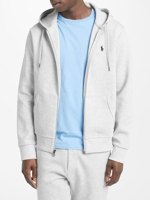 Ralph Lauren Polo Long Sleeve Full Zip Hoodie, Light Sport Heather