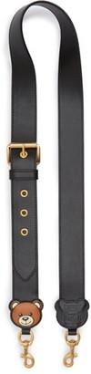 Moschino Teddy Leather Handbag Strap
