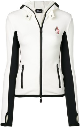 "Moncler ""Performance & Style"" hooded fleece-cardigan"