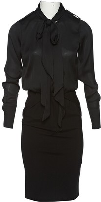 Hotel Particulier Black Polyester Dresses