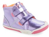 Plae Girl's 'Max' Customizable High Top Sneaker