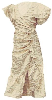 Mestiza New York Valdora Ruffle Midi Dress