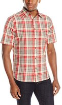 Woolrich Men's Creek Short Sleeve Modern Fit Shirt