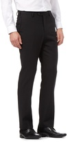 Jeff Banks Black Wool Blend Tailored Trousers