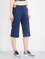 LNDR Wander wide-leg cropped jersey trousers