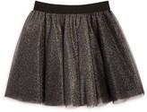 Aqua Girls' Layered Metallic Tulle Skirt , Big Kid - 100% Exclusive