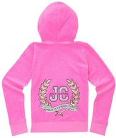 Juicy Couture Girls Logo Velour Glam Laurels Robertson Jacket