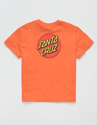 Santa Cruz Classic Dot Little Boys Orange T-Shirt (4-7)