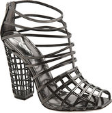 Cage Ankle Boot - Anthracite