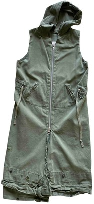 Greg Lauren Green Cotton Jacket for Women